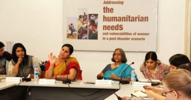 Snapshots: Addressing Women's Vulnerabilities in Post Disaster Situations