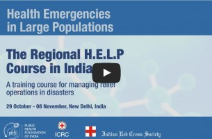 H.E.L.P. — Specialised Course for Disaster Response & Relief