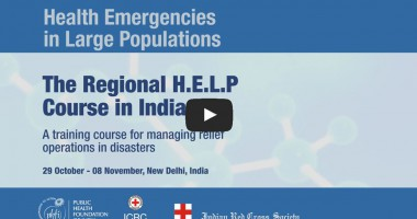 H.E.L.P. Course — Specialised Training for Disaster Response & Relief