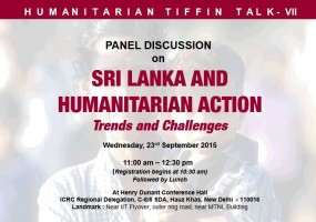 Sri Lanka and Humanitarian Action – Discussion on Trends & Challenges