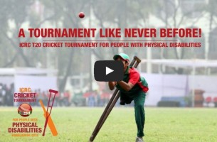 England Win ICRC Bangladesh Tournament for People with Disability