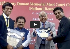 NLSIU Bangalore Wins 15th Henry Dunant Memorial Moot Competition