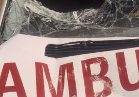 Red Cross Ambulance Vandalised on Way to Evacuate Injured in Nepal