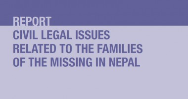 Nepal: Report Highlights Pressing Issues Faced by Families of the Missing