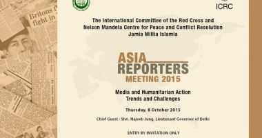 Asia Reporters Meet to Discuss Media & Humanitarian Action