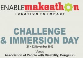Enable Makeathon Gets Underway in Bengaluru