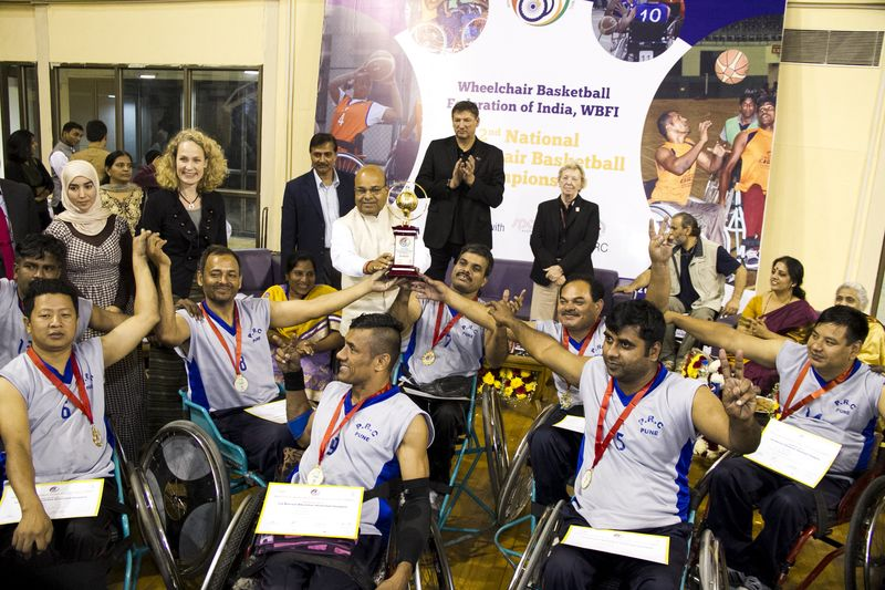 Team Maharashtra Win 2nd National Wheelchair Basketball Championship