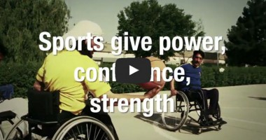Sports Give Power, Confidence and Strength to Persons with Disabilities