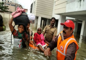 Tamil Nadu Floods: Indian Red Cross Deploying Water – Sanitation Units