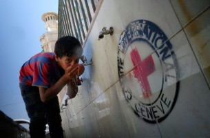 Syrians Locate Safe Water Sources on Digital Map Created by Red Cross