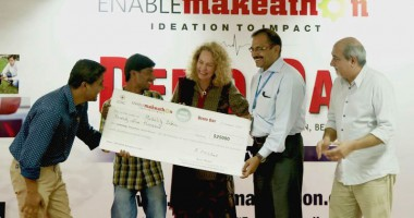 Team Mobility India wins EnableMakeathon!