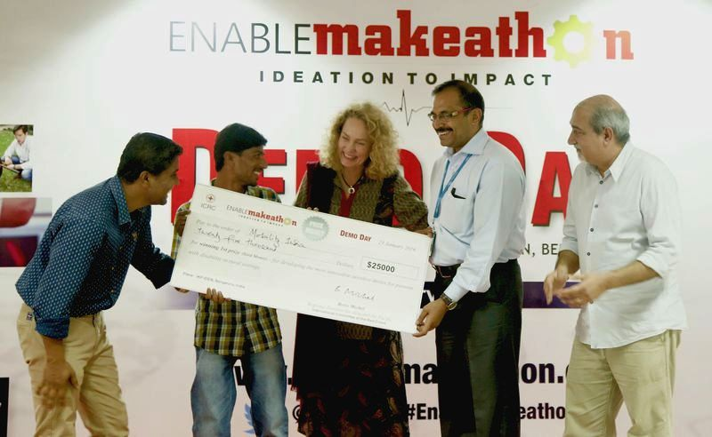 Team Mobility India wins EnableMakeathon!