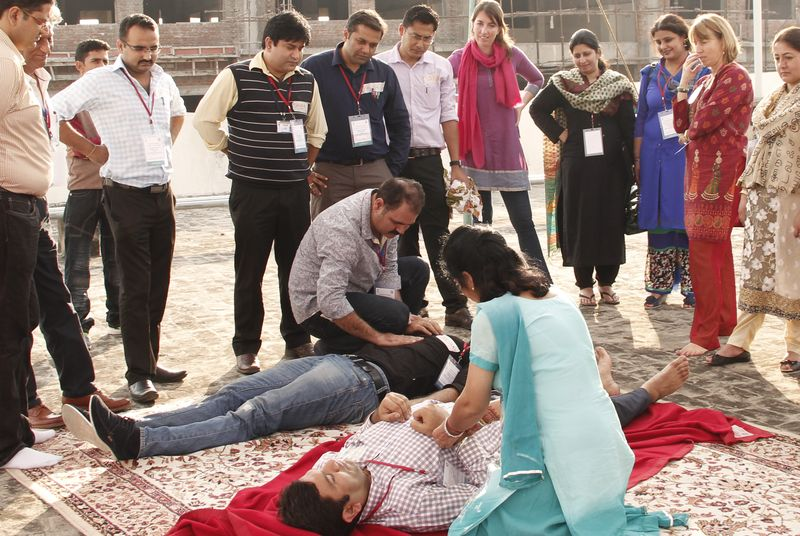 Strengthening Basic Life Support Skills of Health Professionals and First Responders
