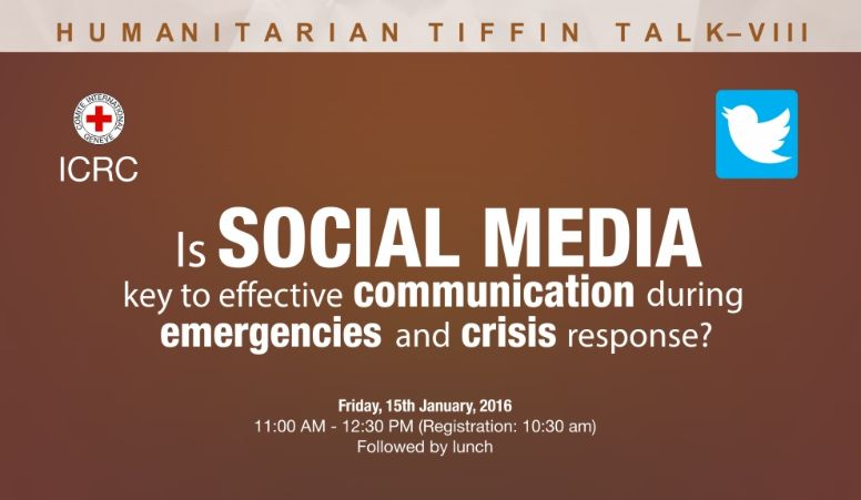 Panel Discussion on Efficacy of Social Media during Emergencies and Crisis Response