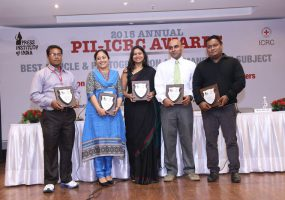 Independent journalists win big at the ICRC-PII Annual Awards for best article and best photograph