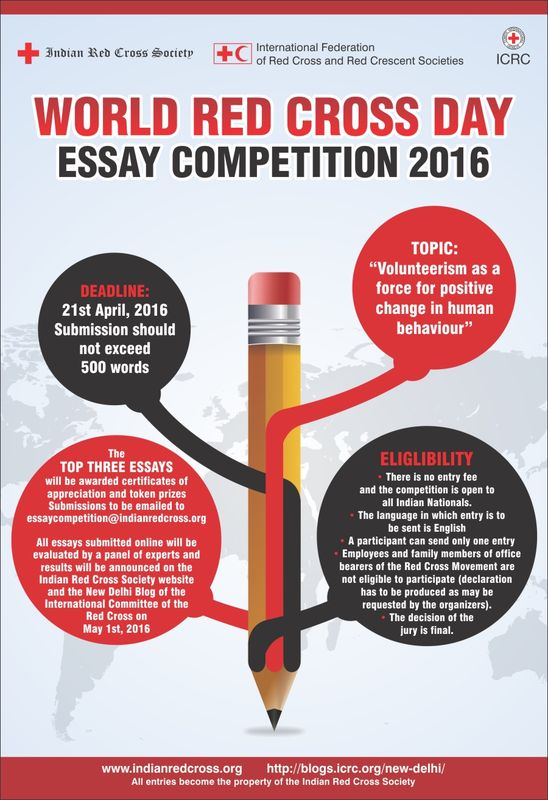 online competitions to mark world red cross day the icrc in new  rc day poster essay