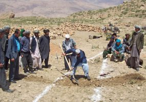 Afghanistan: Rebuilding Reservoir Benefits Farmers in Bamyan