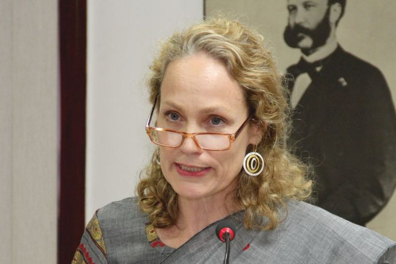 Mary Werntz Ends Mission in Delhi