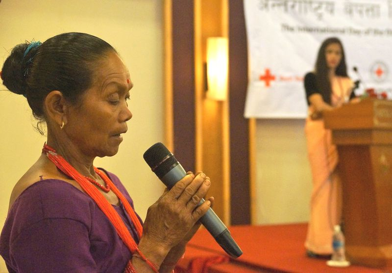 Bhojali Chaudhari who plays the lead in the ICRC documentary The Doll's Funeral talks about her experience. ©ICRC, Pramesh Poudel