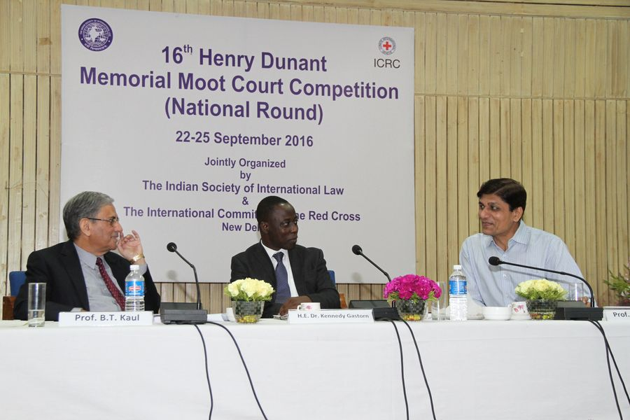 Image result for 17 Henry Dunant Memorial Moot Competition