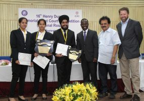 First-Time Finalists Panjab University Emerge Winners at the Henry Dunant Moot Court Competition