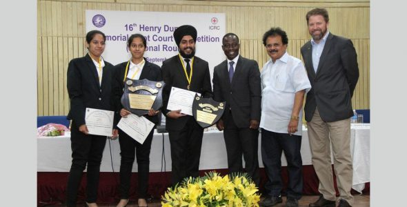 First-Time Finalists from Panjab University Emerge Winners at Henry Dunant Moot Court Competition