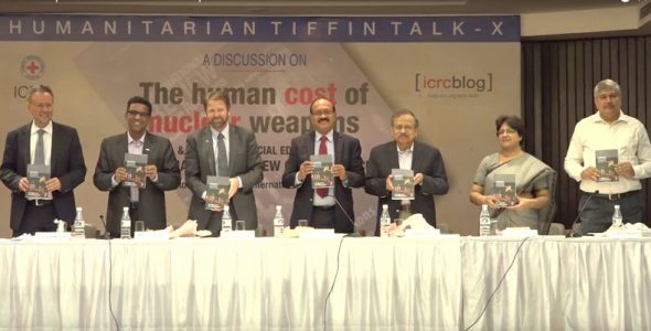 Nuclear Weapons and their Humanitarian Consequences – Special Edition of the Review Launched in Delhi