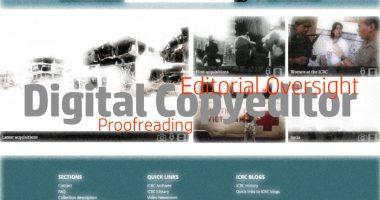 Vacancy Notice for Digital Copyeditor (English)
