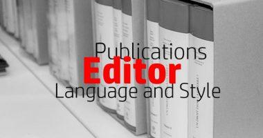 Vacancy Notice for Editor (English)