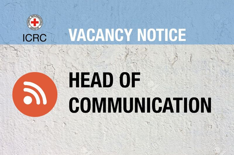 Vacancy Notice for Head of Communication – New Delhi
