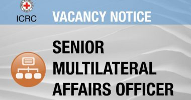 Vacancy Notice for Senior Multilateral Affairs Officer