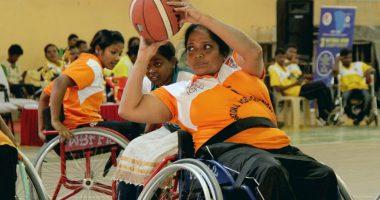 व्हीलचेयर बास्केटबॉल महिला खिलाड़ियों का नई ऊंचाइयों को पाने का उत्साह व आत्मविश्वास