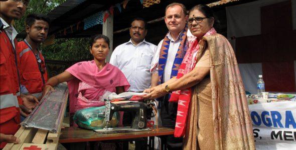 A Humanitarian First and Always — By Renuka Devi Barkataki