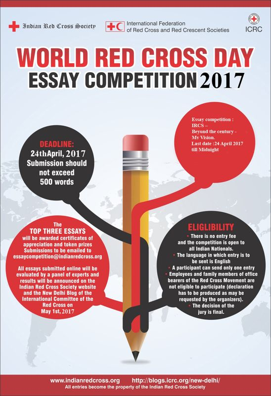 essay and photography competition on world red cross day  essay and photography competition on world red cross day 2017