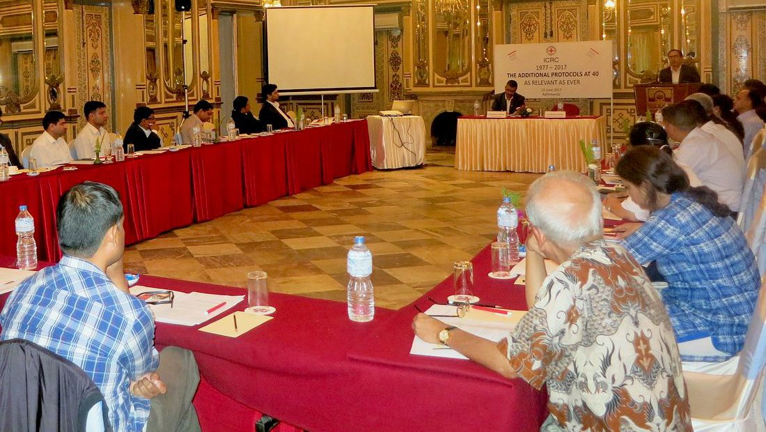 Nepal: Marking the 40th Anniversary of the Additional Protocols to the Geneva Conventions