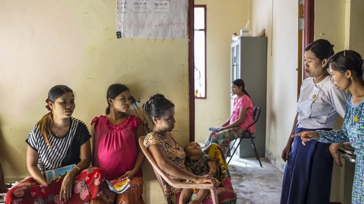 A Clinic Open to Everyone in Rakhine