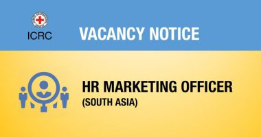 Vacancy Notice for HR Marketing Officer (South Asia)