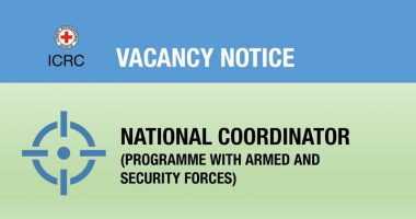 Vacancy Notice for National Coordinator (Programme with Armed & Security Forces)