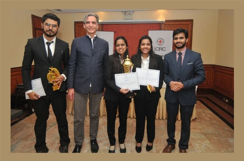 भारतको निर्मा यूनिभर्सिटी, इन्स्टिच्यूट अफ ल मुटकोर्ट प्रतियोगिताको दक्षिण एसियाली राउण्डमा विजयी