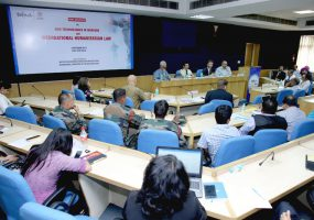 Experts Discuss New Technologies in Warfare and International Humanitarian Law