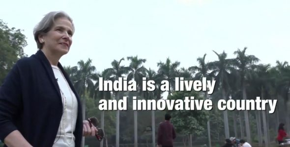 India is a Lively and Innovative Country: Christine Beerli