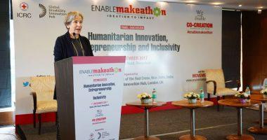 Keynote address of the ICRC Vice President Christine Beerli at Enable Makeathon
