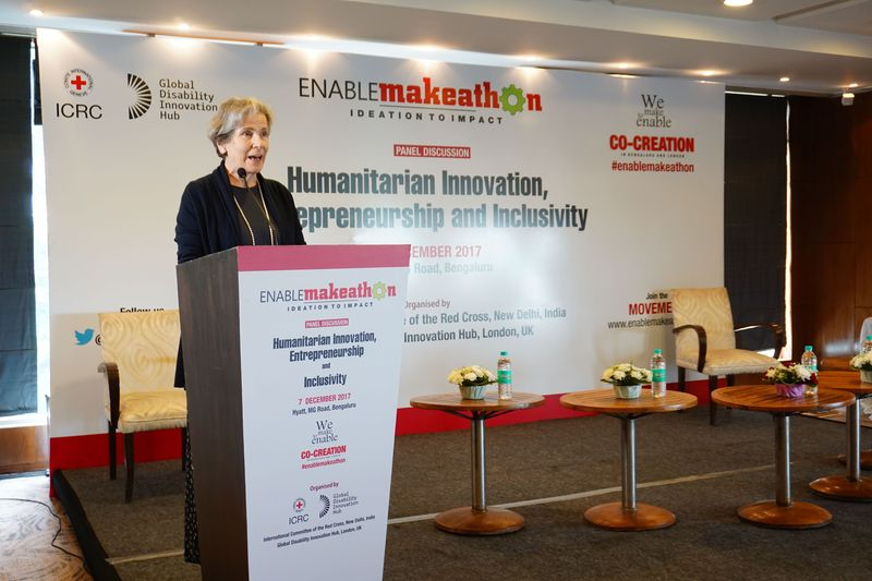 Keynote address of the ICRC Vice President Christine Beerli at Enable Makeathon