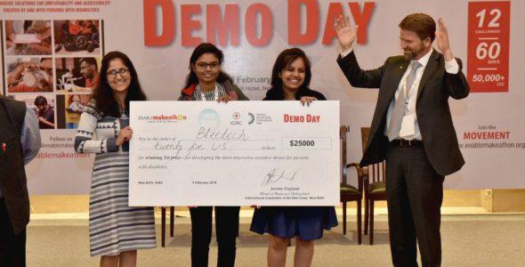 एनेबल मैकाथन 2.0 डेमो दिवस में मुंबई की ब्लीटेक टीम 25,000 डॉलर जीती