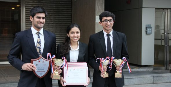 गुजरात राष्ट्रीय विधि विश्वविद्यालय ने 16वीं हांगकांग रीजनल मूट कोर्ट प्रतियोगिता जीती