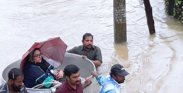 Kerala Floods: Indian Red Cross Relief and Rescue Underway