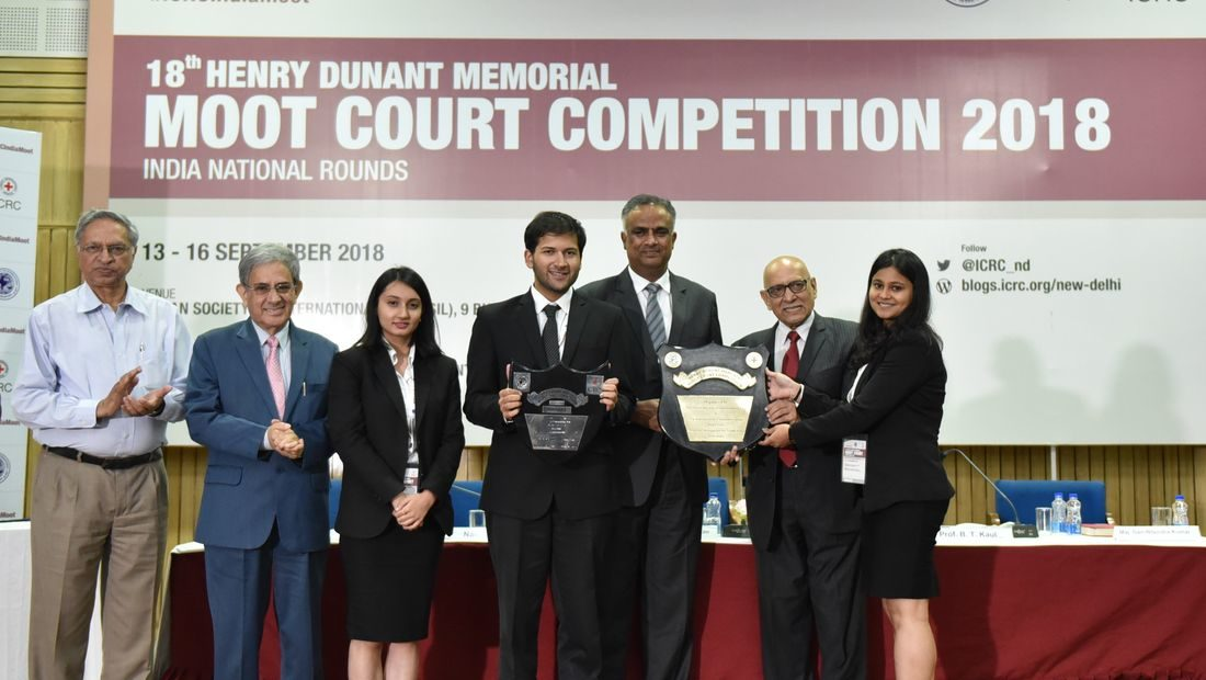 Rajiv Gandhi National University of Law Wins 18th Henry Dunant Memorial Moot Court Competition