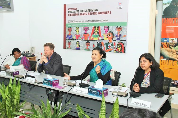 ICRC panel discussion on 'inclusive programming' finds social value in inclusion