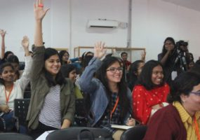 ICRC Role and Mandate session at Indraprastha College for Women