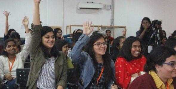इंद्रप्रस्थ कॉलेज में आईसीआरसी की भूमिका और अधिदेश सत्र का आयोजन